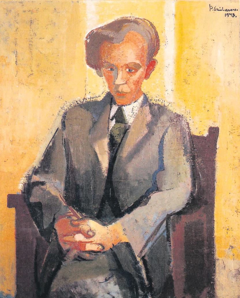 Portrett af Steini 1943.
